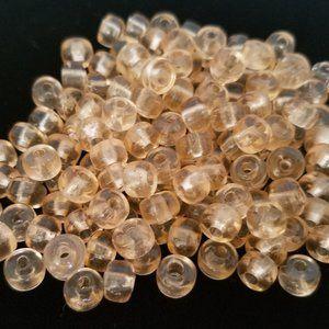 144+ 5mm BEADS Czech Glass PALE PINK 5mm NEW